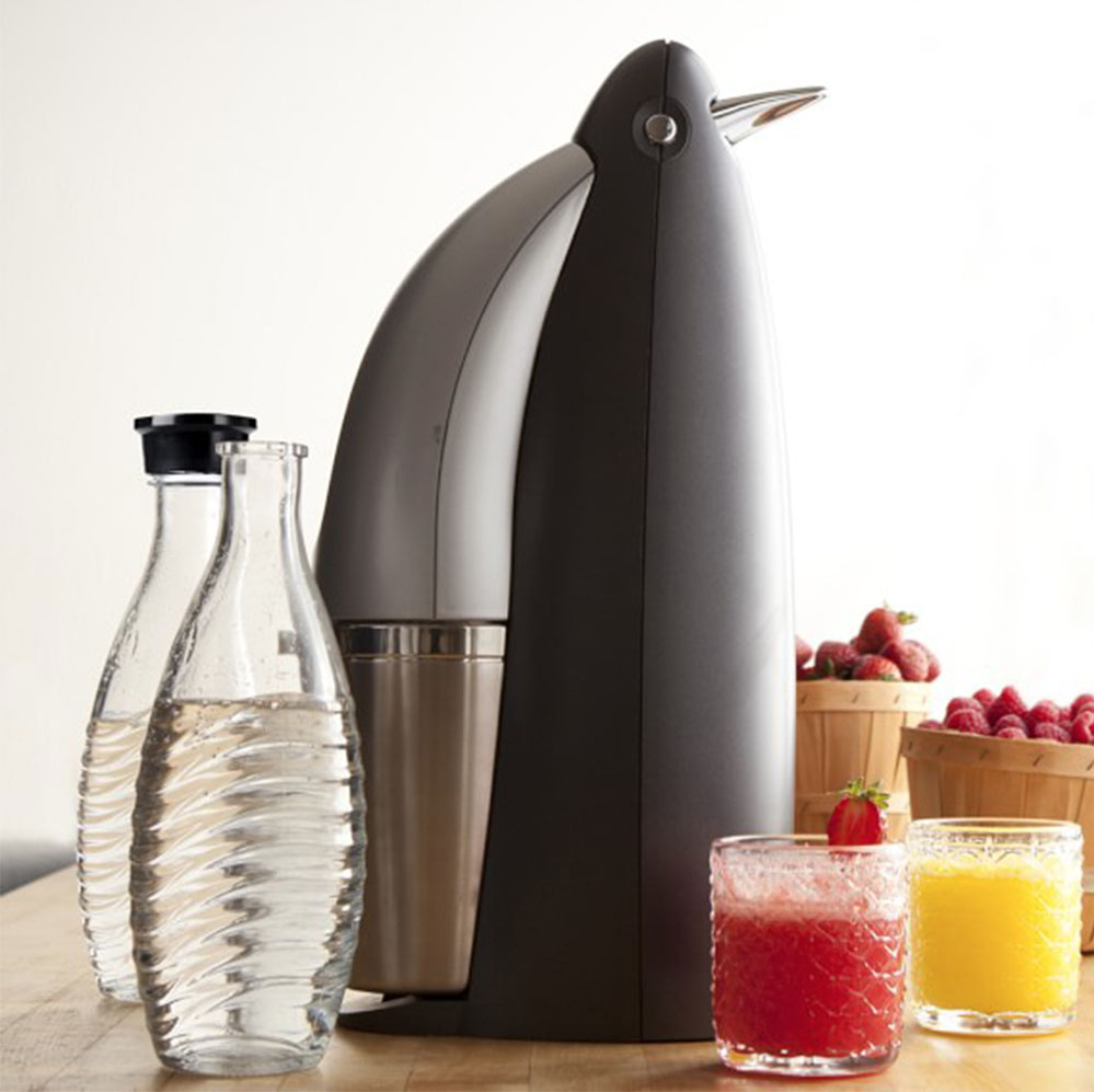 Trying to justify buying a (penguin-shaped!) SodaStream for summer. Think of all the plastic I'll save!