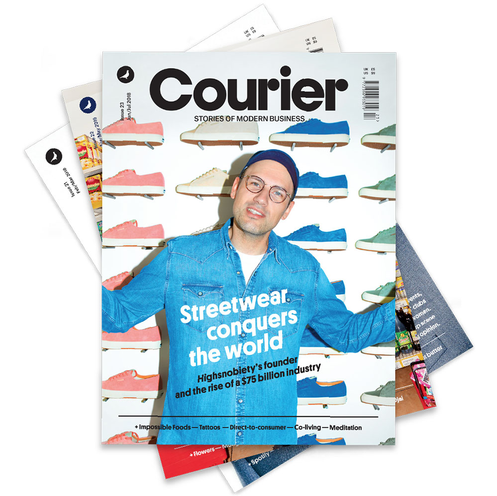 Courier magazine just relaunched and so did my column. Pick up a copy  right here  or on a newsstand near you.