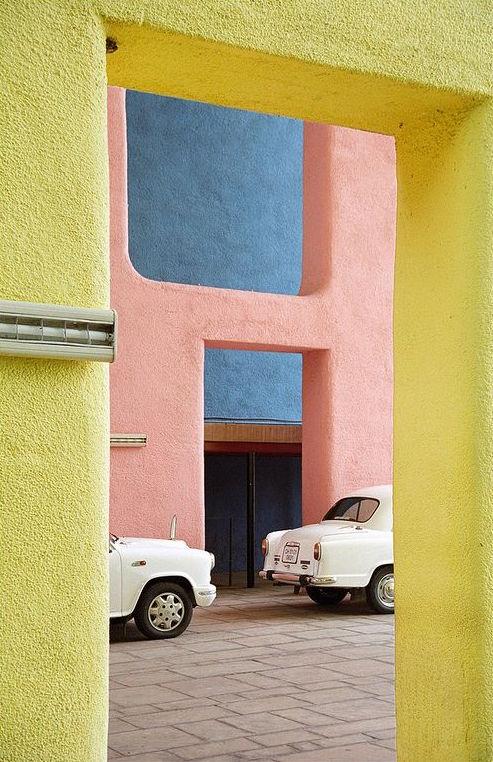 Le Corbusier on a Monday.