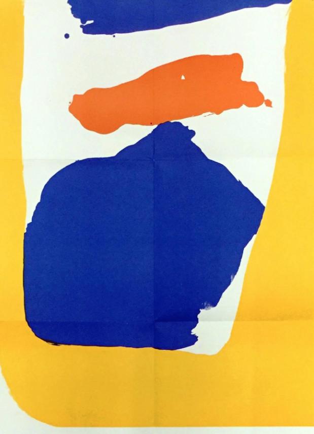 Helen Frankenthaler on a Monday.