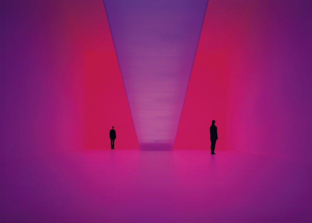 James Turrell on a Monday.