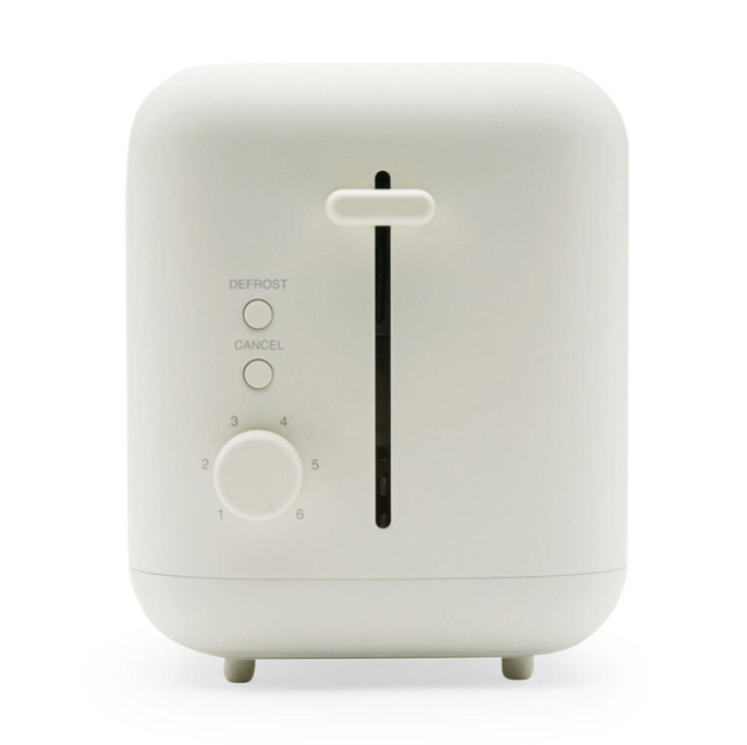 Who knew a toaster could be chic? But behold:  a chic toaster.