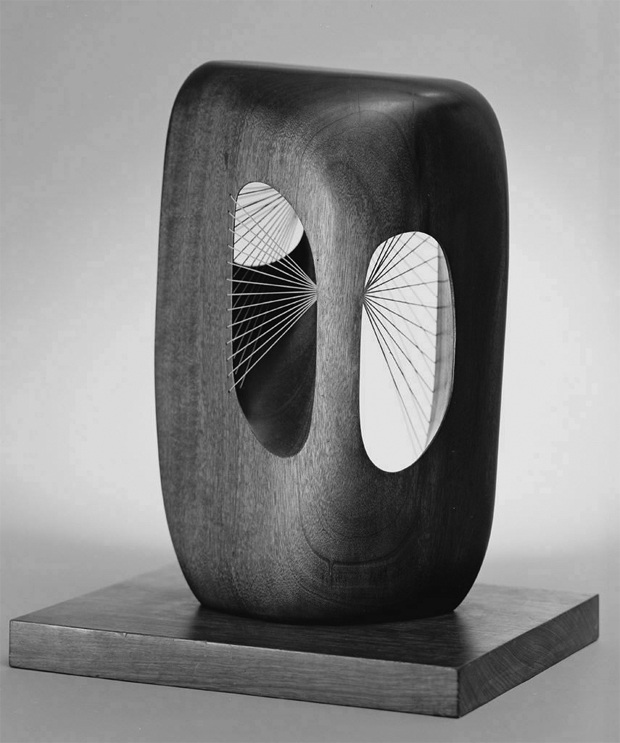 Barbara Hepworth on a Monday.