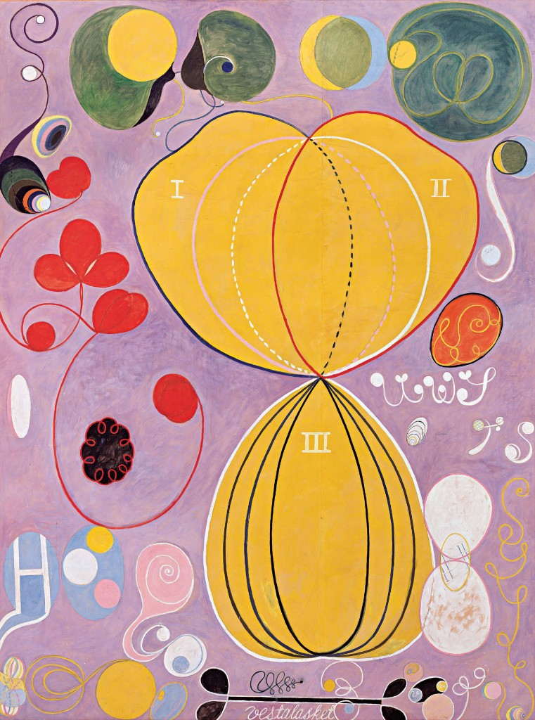Hilma Af Klint on a Monday