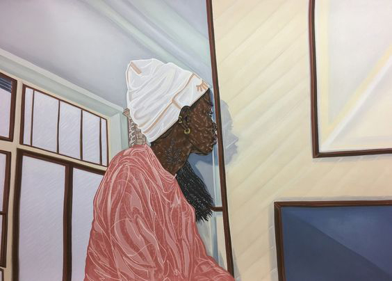 Toyin Ojih Odutola on a Monday.