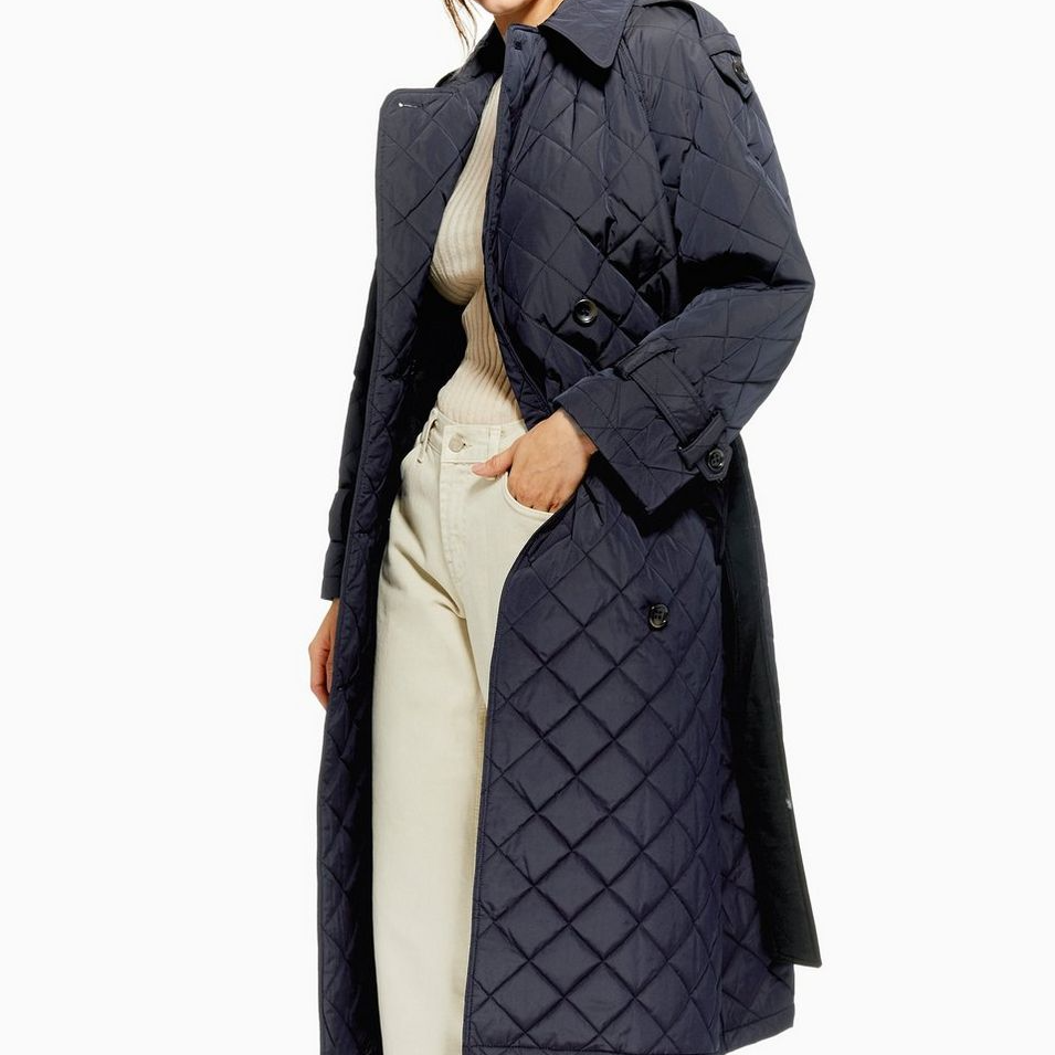 Always in the market for a new trench coat. Always a fan of anything quilted.