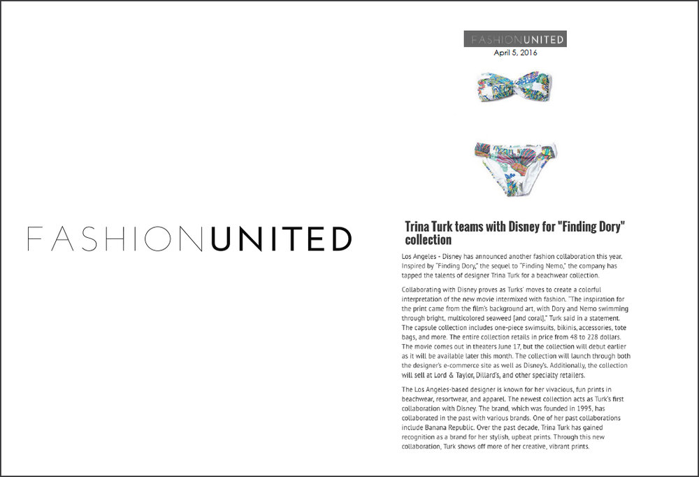 Fashion United, April 2016
