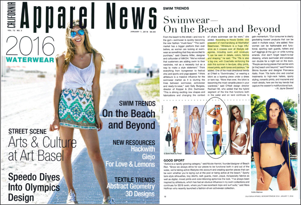 Apparel News, February 2016