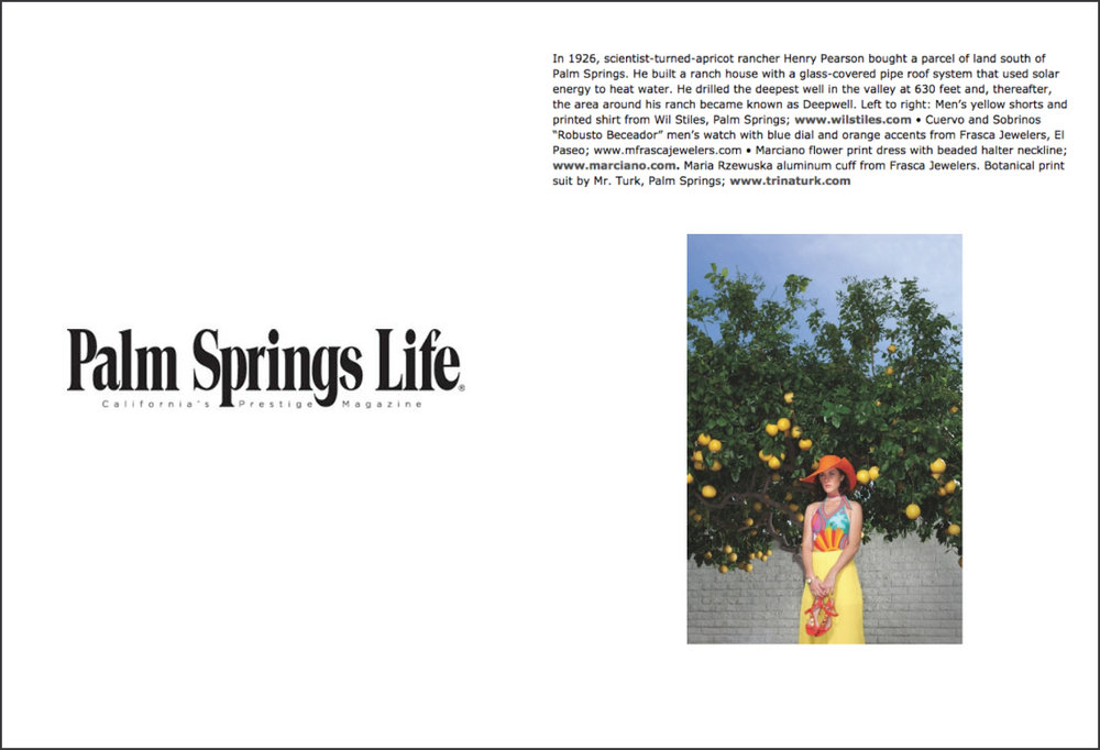 Palm Springs Life, March 2016