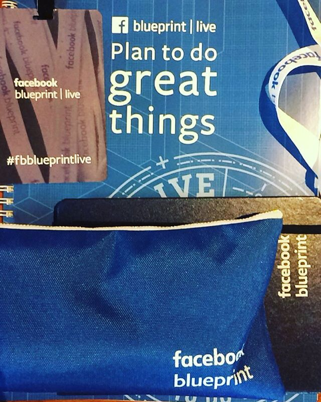Representing R+A at Facebook Blueprint today! #humansponges #weliketolearn #fbblueprintlive