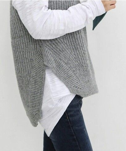 Wool pullover, t-shirt and bell bottoms?Not sure where to find this situation but I like it for right now...