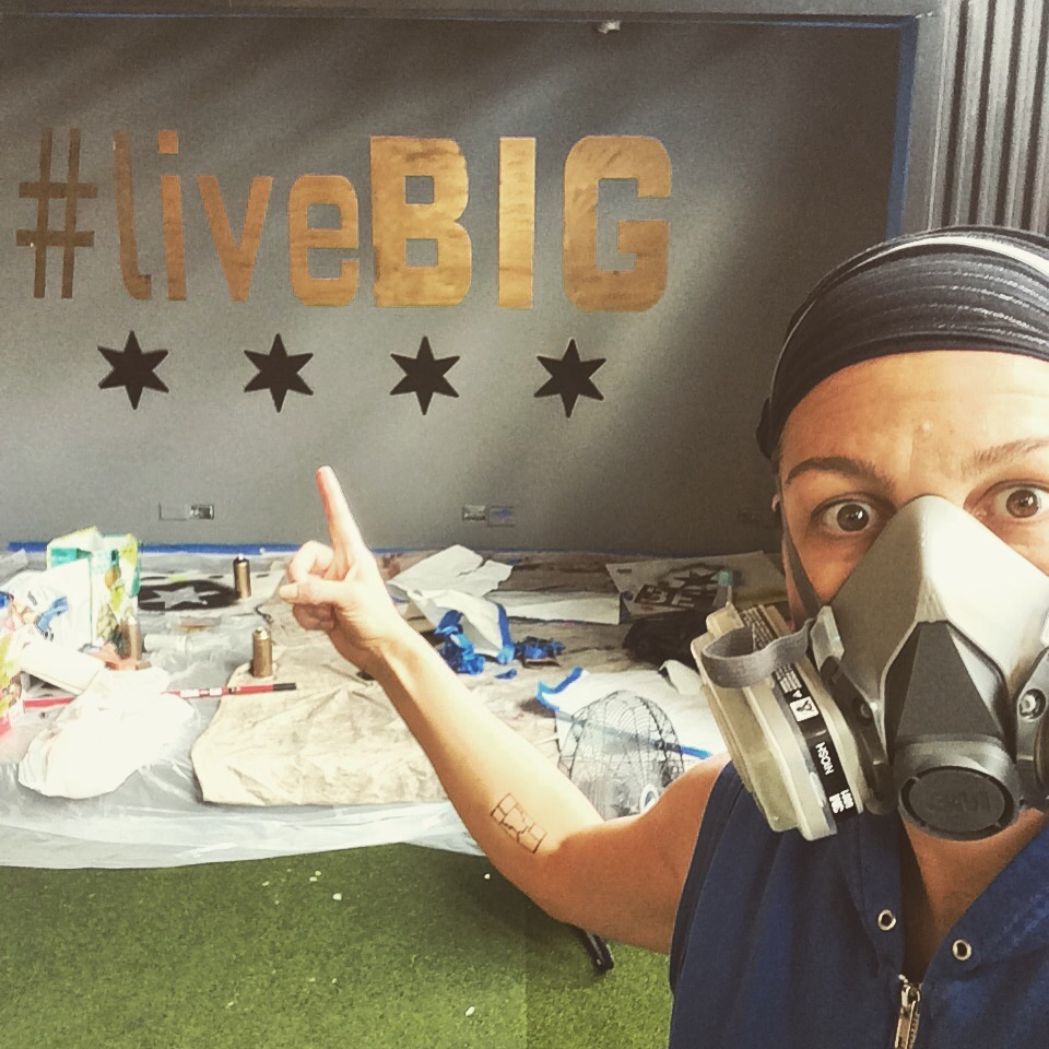 Artist Shannon Favia Gearing Up to Paint the New Children's Mural #liveBIG