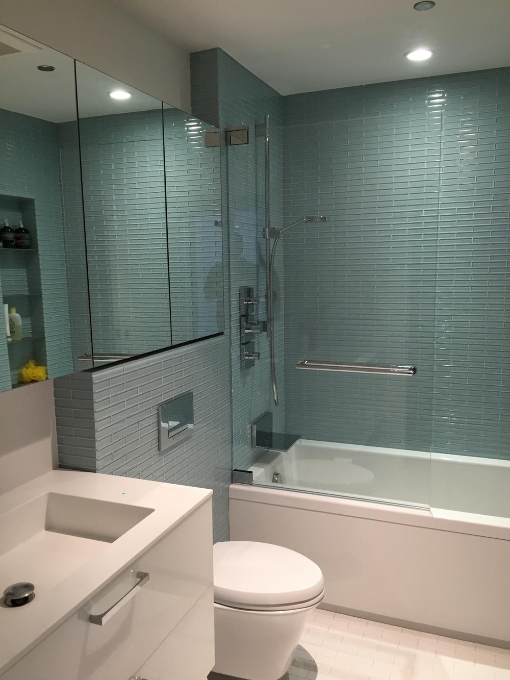 In-Progress Photo of Guest Bathroom