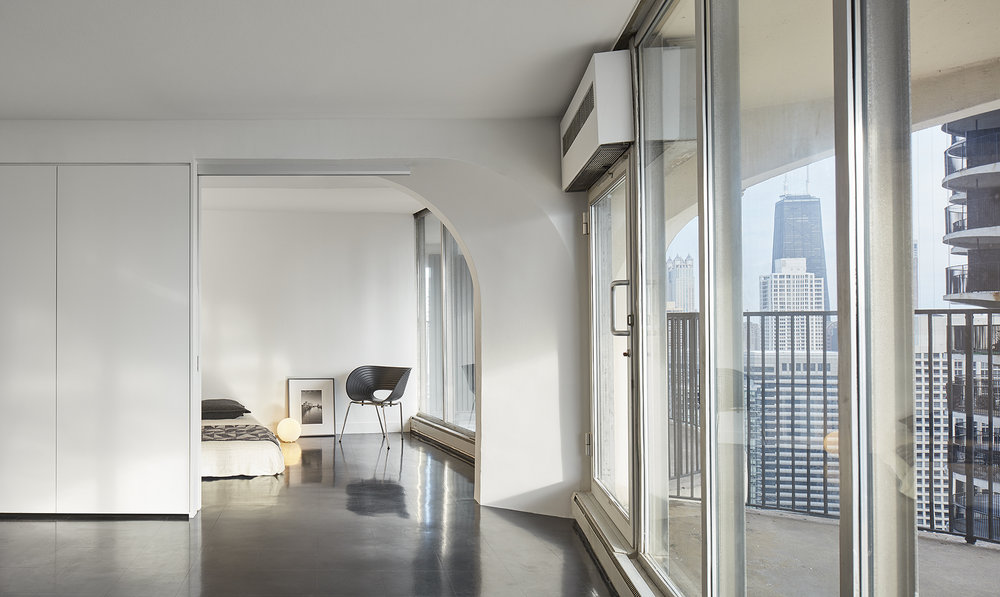 View into Bedroom,Photo courtesy of Tom Harris