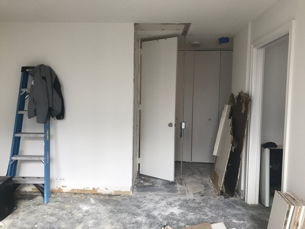 Bedroom: Post-Demolition