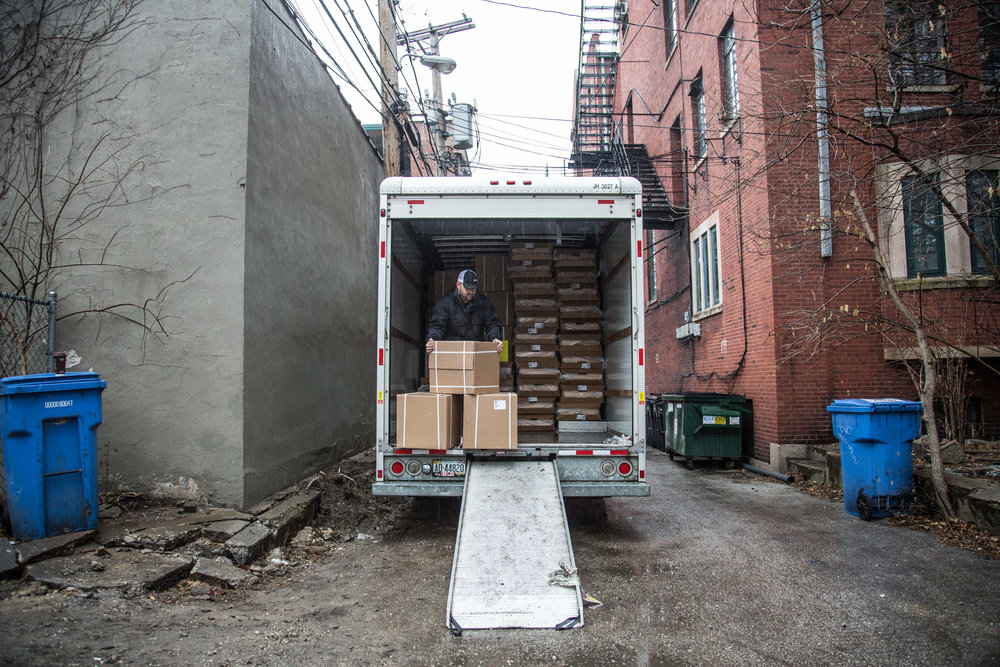 Some days we're architects, some days we're delivery drivers.  Every day we love what we do!