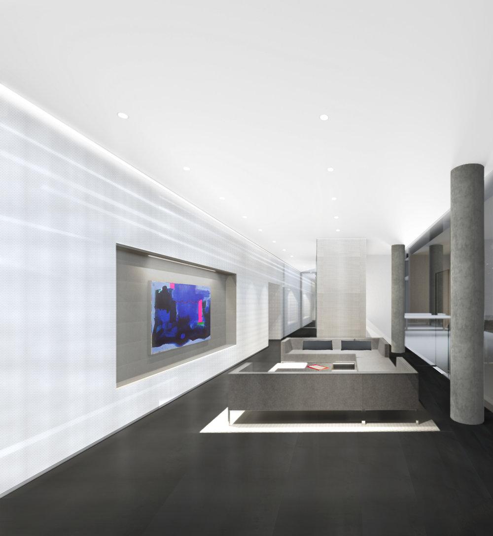 600 Fairbanks Interior Lounge