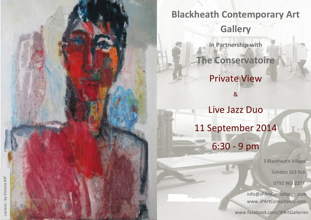 Private View Invitation- Blackheath Contemporary Art Gallery & The Conservatoire Sept 2014 (1).jpg