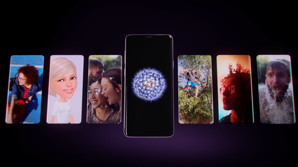Houdini work on Samsung Galaxy S9 splay