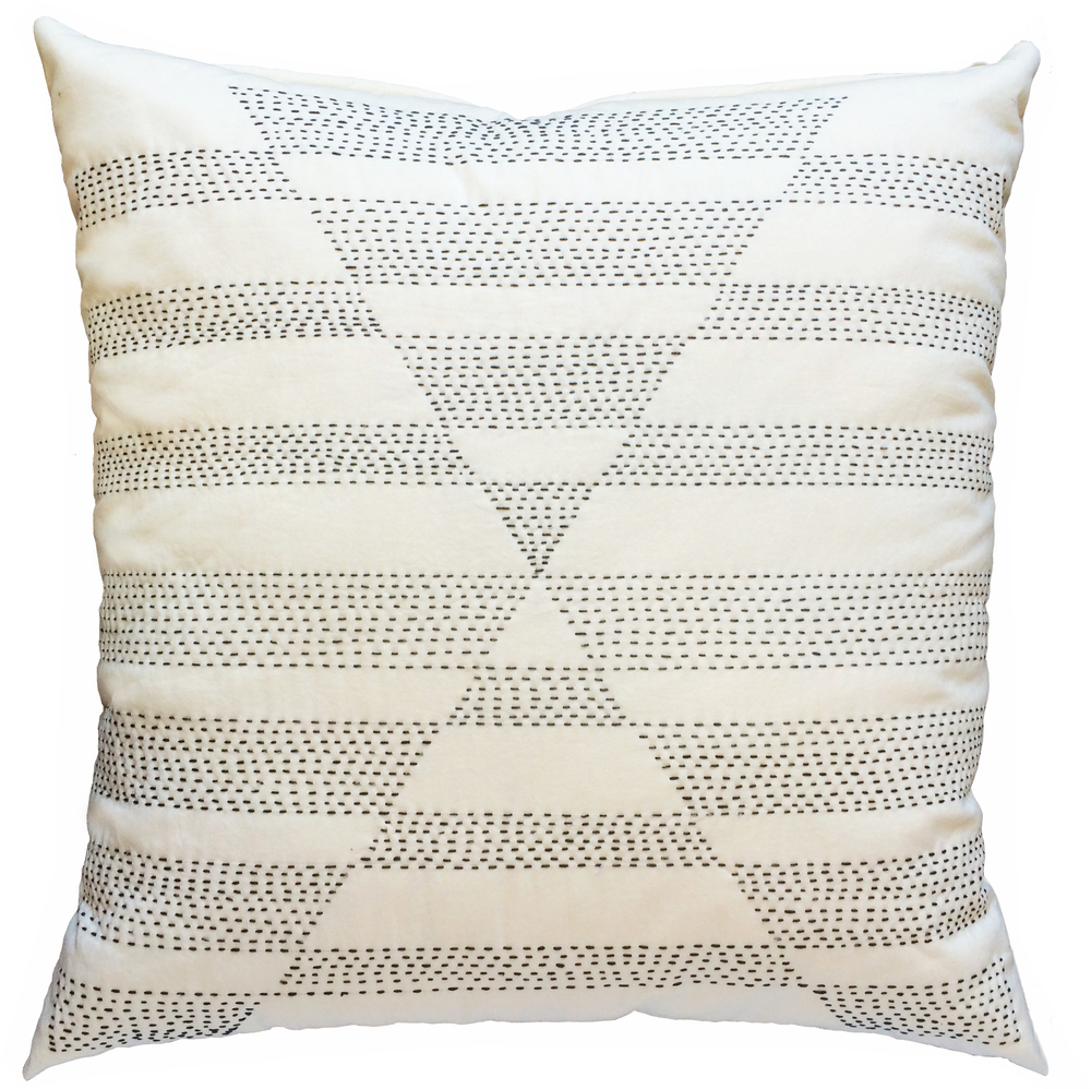 Pyramid Stitched Pillow