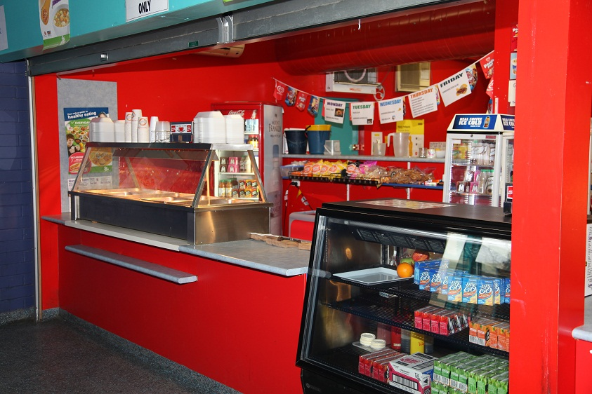 Glenroy College canteen