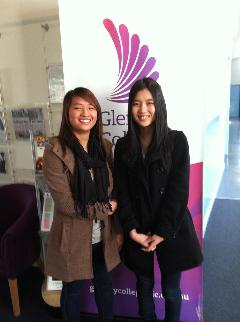 Huyen Nguyen & Thet Wai
