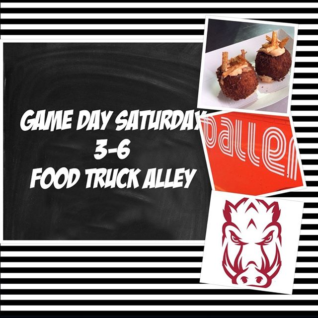 Come by and grab some balls on the way to the game!!! We are behind the Alumni House which is right across the street from the northwest endzone. #razorbackfootball  #arkansasrazorbacks #gohogs