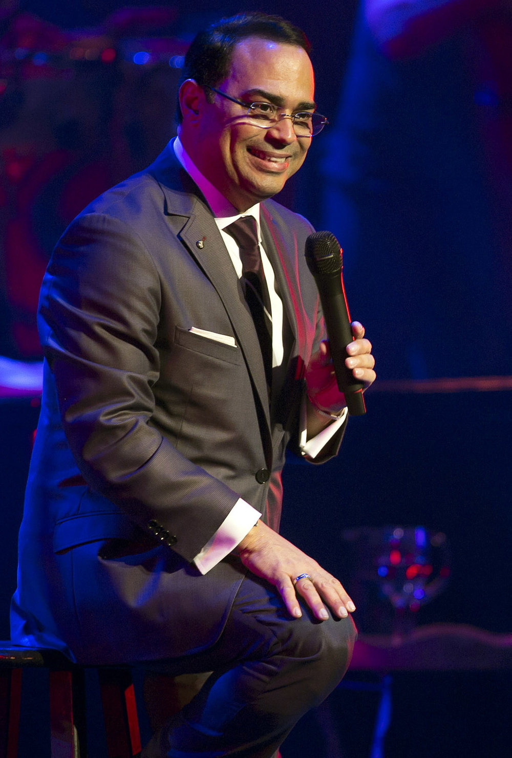 Gilberto Santa Rosa - One of the biggest acts in salsa music, Puerto Rican born Santa Rosa grew up in Guayama, Puerto Rico. Considered one of the classiest acts in the industry, he has won many adoring fans throughout Latin America, especially in Puerto Rico, Venezuela, and Spain, where his music is played daily on radios.