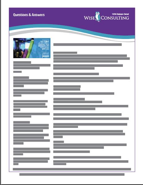 Click to Download Q & A .PDF