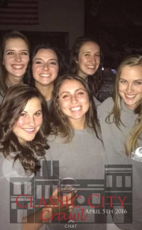 Gamma members using CCC Snapchat Geofilter