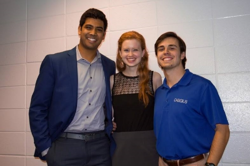 Terry Ambassadors: Milan Patel, Ansley Maness, Brian Olsen