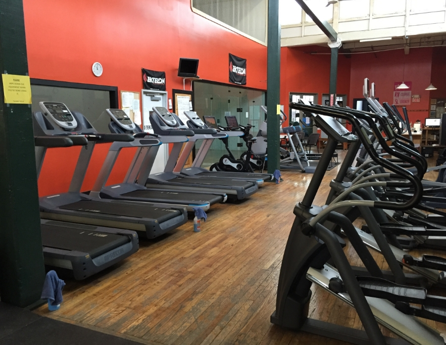 Treadmills, elliptical machines, stationary bikes