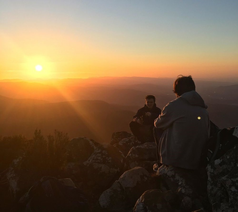 Several Tasmanians go bushwalking and mountain climbing after work and school hours. Groups can be found online. Photo: Anders Buch-Larsen