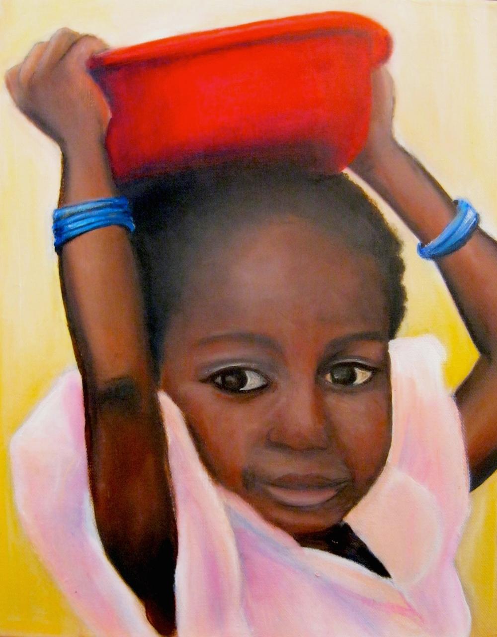Mopti Girl (Mali)