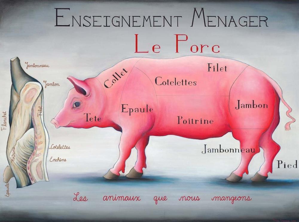 Enseignement Menager - Le Porc