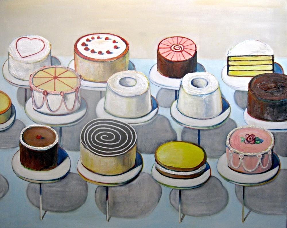 Cakes (Wayne Thiebaud)