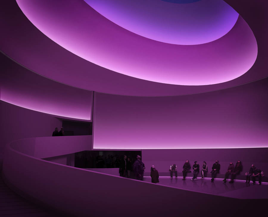 """I didn't want to use light as we normally use it, that is to illuminate other things - I was interested in the thingness of light itself, so the light became the revelation."" -  James Turrell"