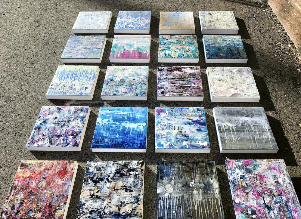 mirror paintings: cuba 2017 -