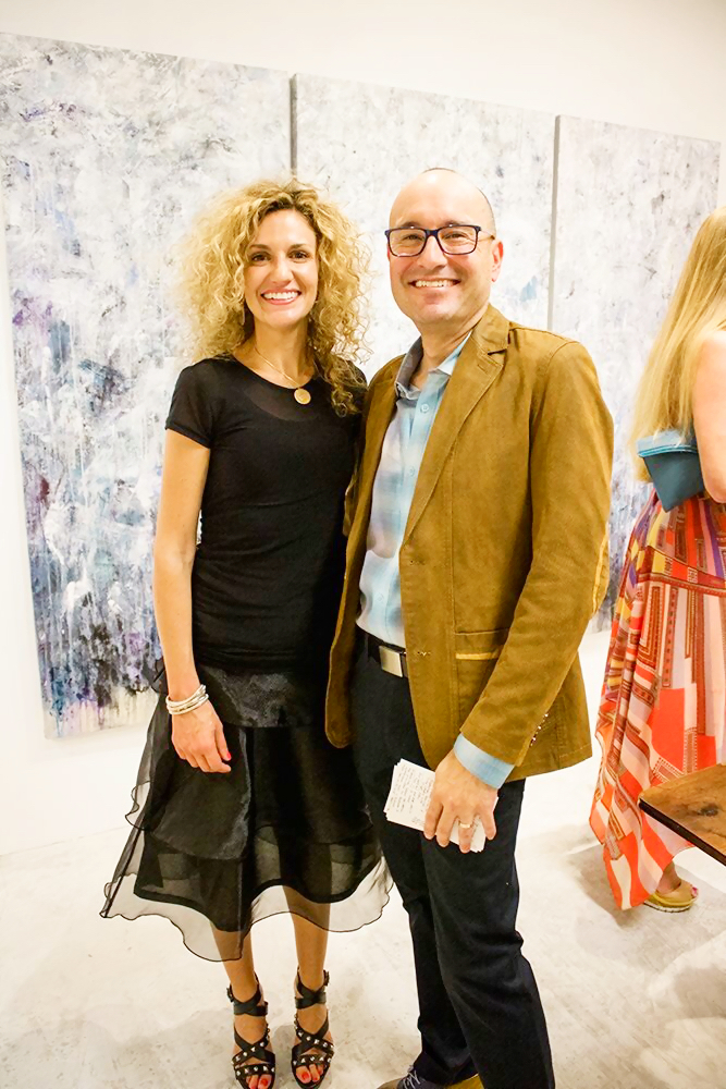 Nikki Vismara and Michael Barba of Barba Contemporary Art