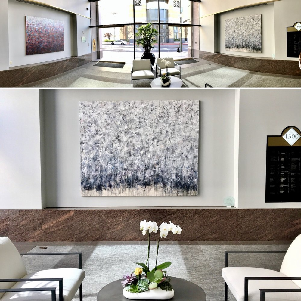 "More Than Anything - 96x72"" on display in Oakland, California through Slate Art Consulting"
