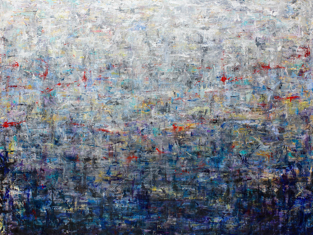 large abstract -
