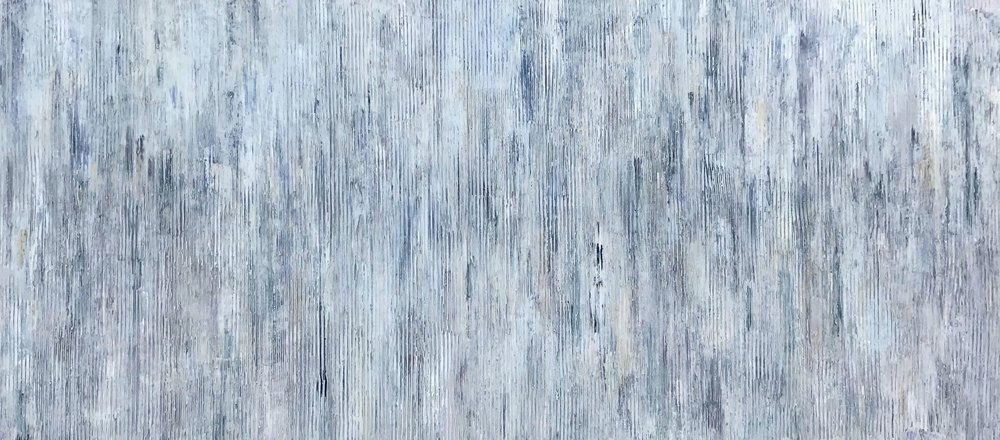 """#166 (I Was Just Thinking About You redux) • 73x33"""""""
