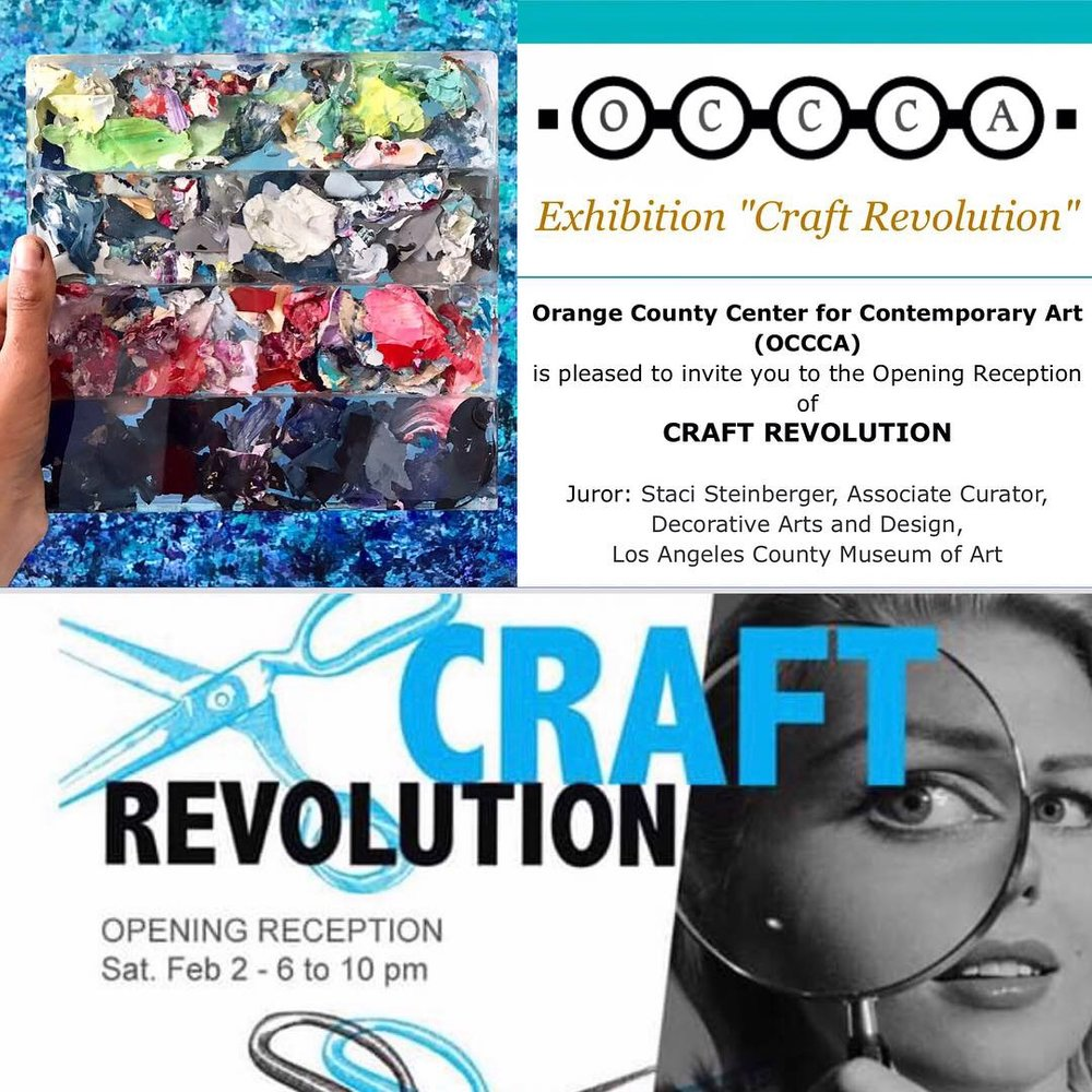 CRAFT REVOLUTION • OCCCA • February 2nd • 6PM-10PM • 117 N Sycamore Street • Santa Ana, California