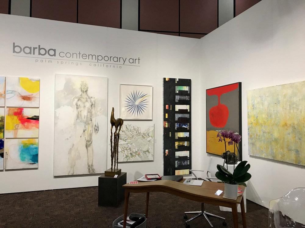 Barba Contemporary Art at Palm Springs Art Fair, February 2019