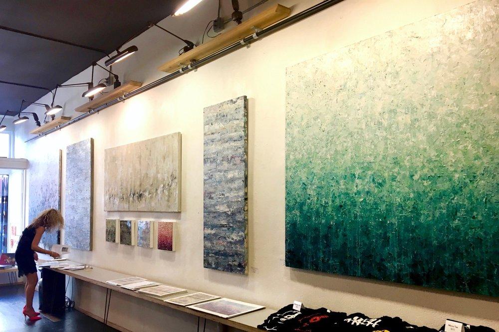 Gallery 1317, San Francisco - Nikki Vismara Solo Show - Opening. July 2018