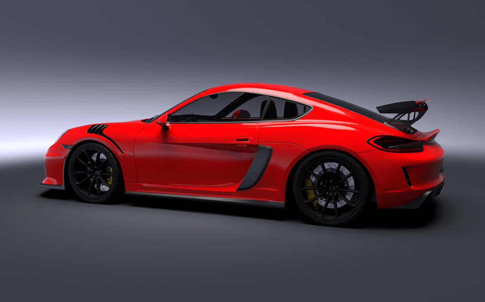 Porsche Gt4 Rs Greg Thompson Automotive Design Llc