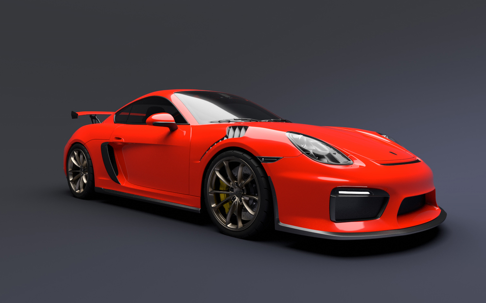 Porsche Gt4 Rs Greg Thompson Automotive Design Llc