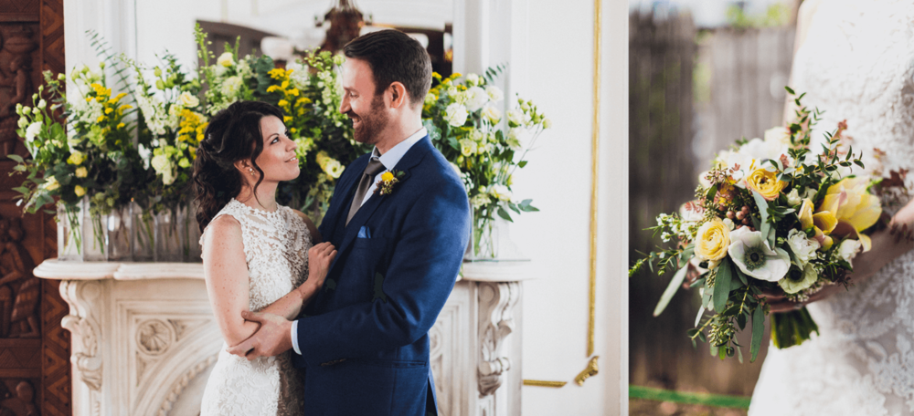 KRIS & LUCAS:   A Lovely, Joyful Spring Wedding in Brooklyn