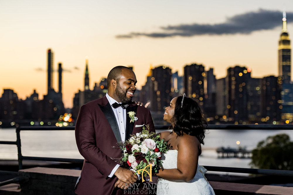 YANIQUE & RONDEL:   Lush & Romantic Meets Raw & Rustic