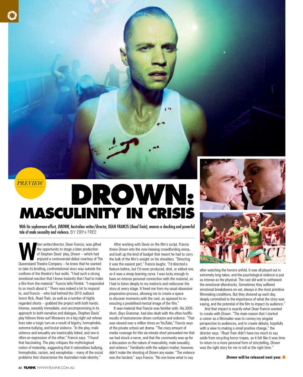 FilmInk previews DROWN  (December 2014)